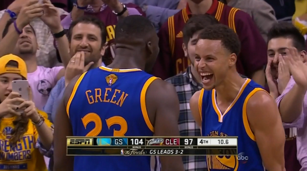 Photo Essay: Game 6 of the 2015 NBA Finals - DraftKings ...
